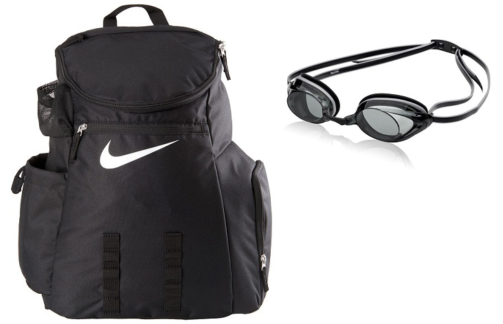 e59896d684ab6 Metro price: $74.95-$74.95 each. NIKE SWIM Swimmer's Backpack II With  Vanquisher 2.0 Goggle Bundle(Random Color will be ship out)