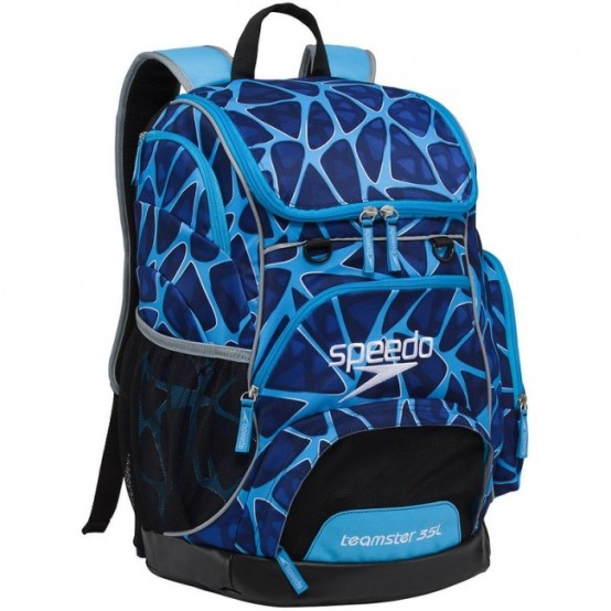 362c19fae4e0 SPEEDO Large Teamster Backpack - 35L (Caged Blue (461))