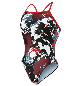 NIKE SWIM Aquaburst Female Lingerie Tank (22  Only) (Varsity Red)