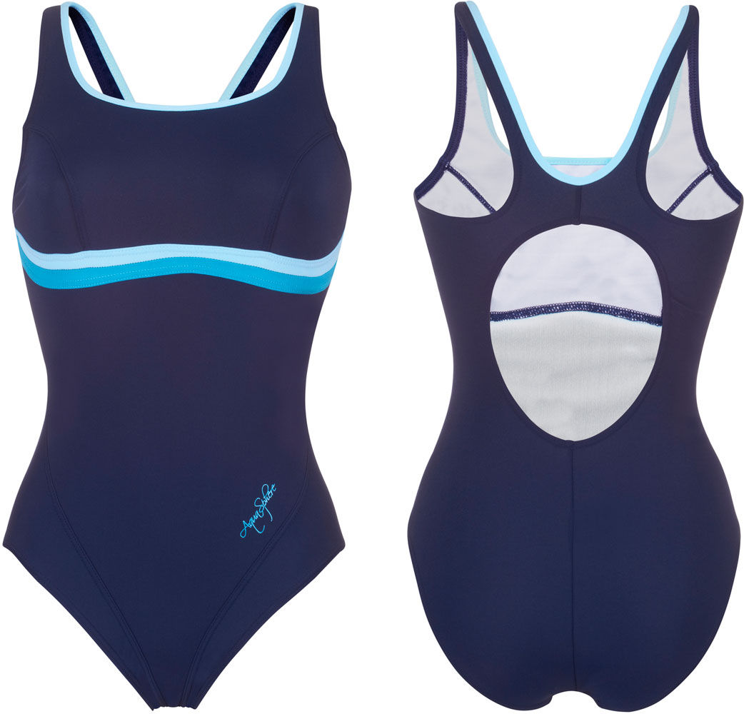 Aqua Sphere Naiad Nazca Female Round Back Swimsuit SW017